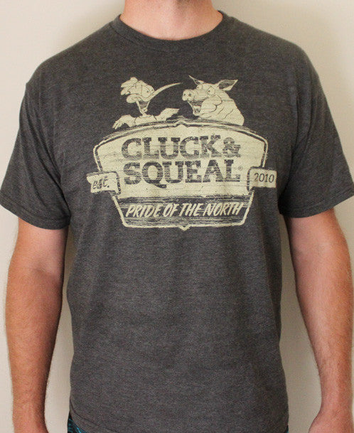 Men's Pride of the North T-Shirt - Cluck And Squeal BBQ Rubs and Seasonings.