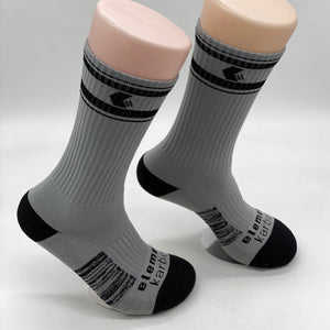 Element Karbon High Performance Socks - Grey and Black