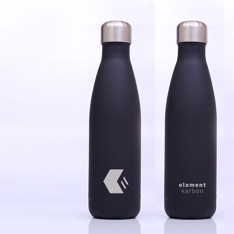 500ml Soft Touch Stainless Steel Insulated Metal Drinks bottle