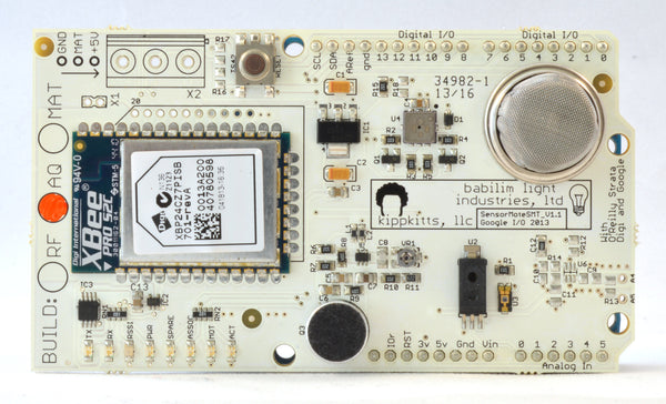 Arduino Day Discount Sensor Mote Air Quality w/ XBee ZB Pro SMT