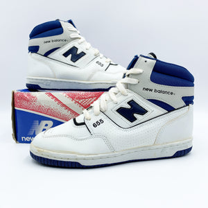 New Balance K655 Blue/White 1987 ⭑ - Vintagetts