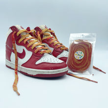"Load image into Gallery viewer, Vintage TTS Laces 005 ""Fade Red"""