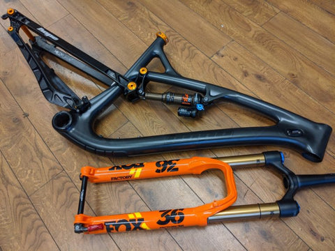 Hope HB130 Frame Pack + Fork Bundle