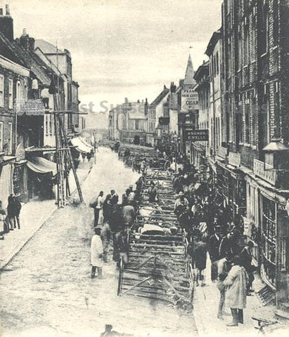 old fashioned market on north street chichester