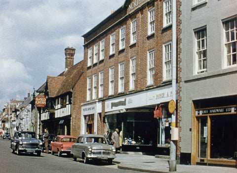 fifties chichester colour photo