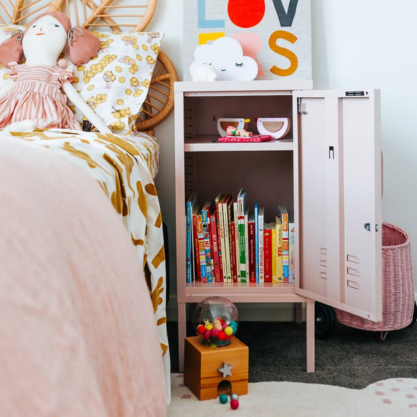 Short Blush Pink Locker