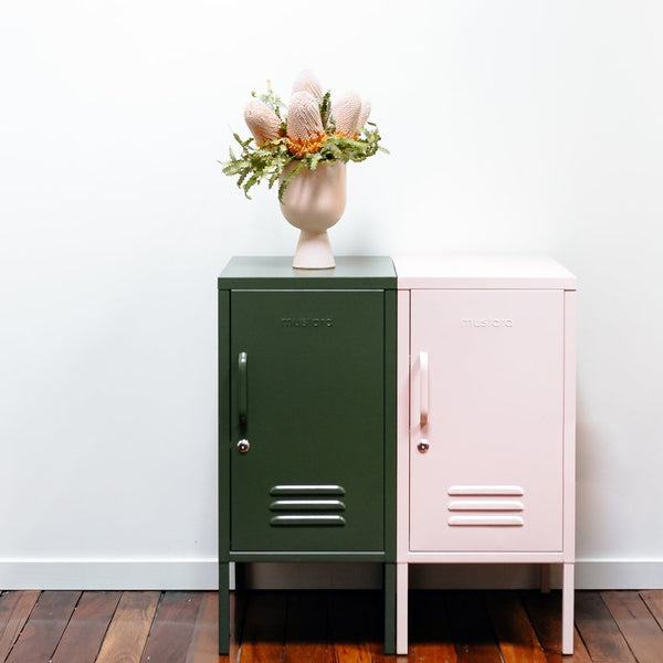 Short Olive Green Locker