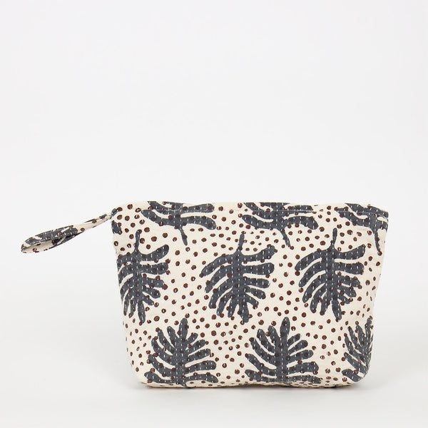 Fairtrade Fern Print Toiletry bag