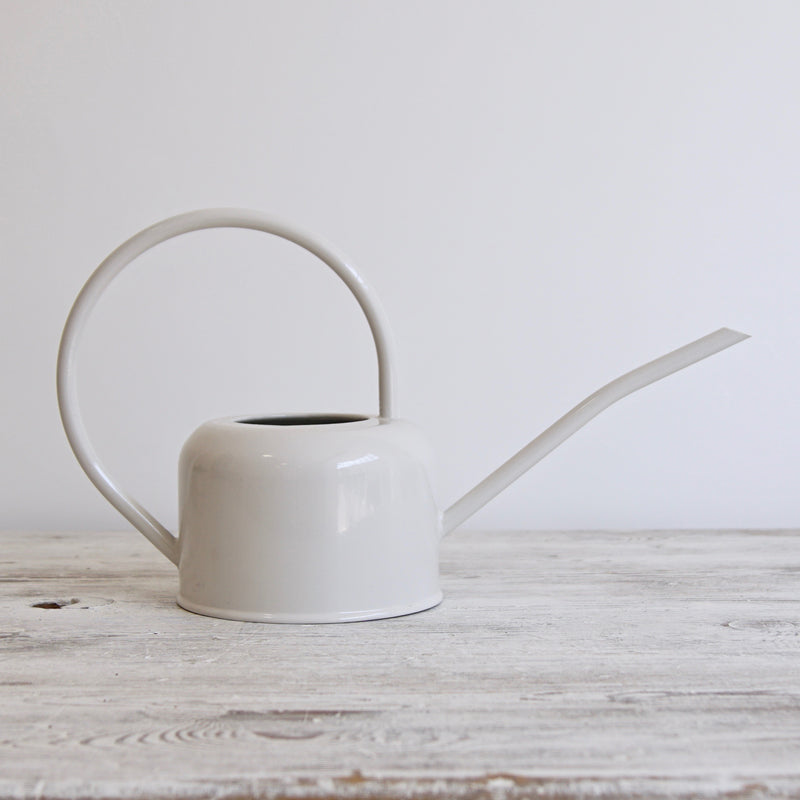 Indoor White Watering Can