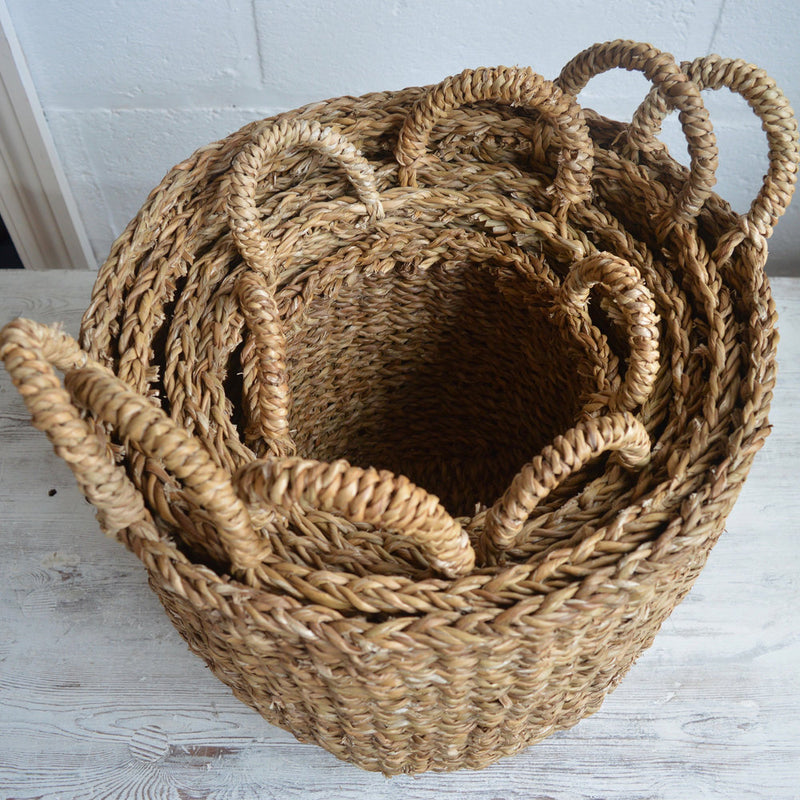 Fairtrade Woven Storage Baskets - 5 sizes