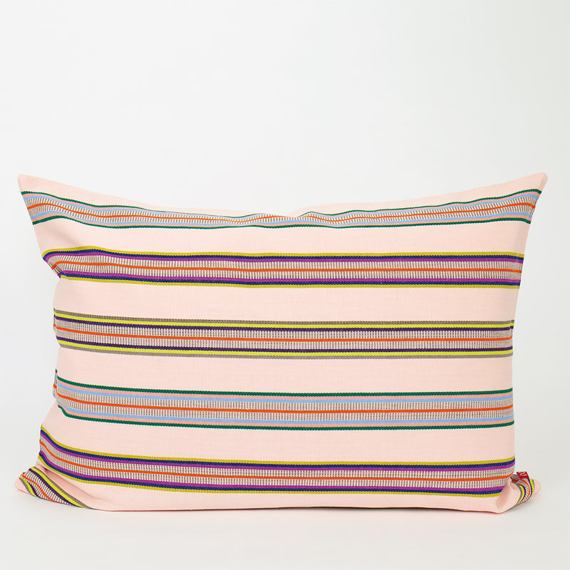 Mayan Triple Striped Cushion