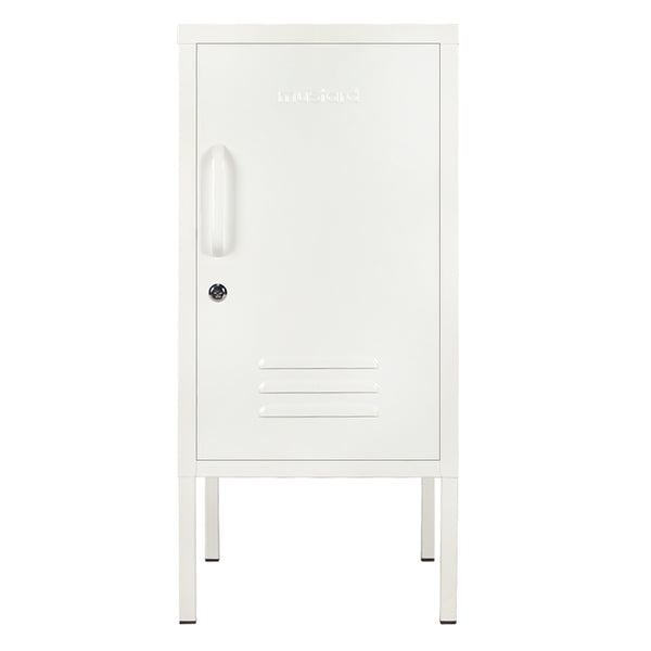 Short White Locker