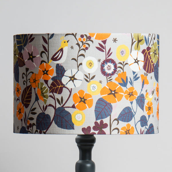 Large Lampshade in Nasturtium