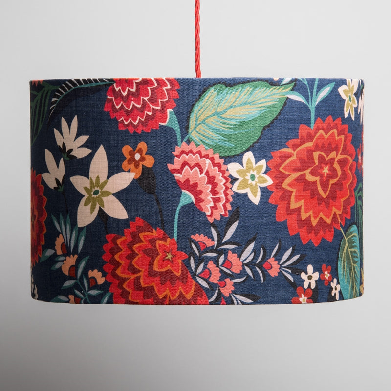 Large Lampshade in Carnation