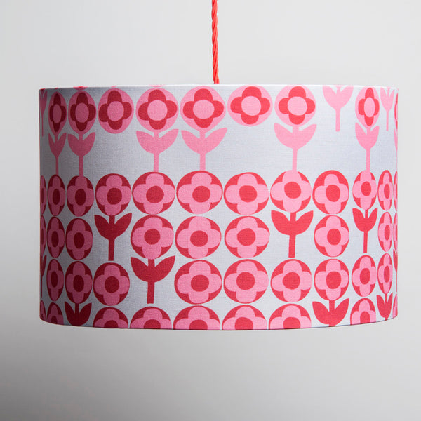 Verdure Large Lampshade in Rose