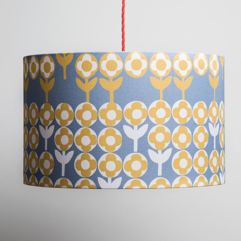 Large Verdure Lampshade in Mustard