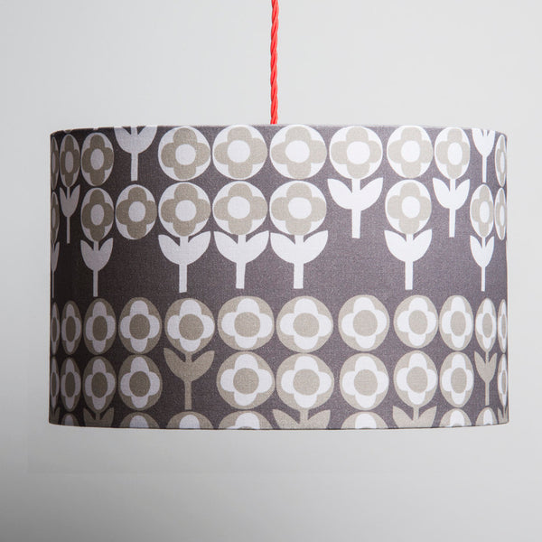 Verdure Large Lampshade in Peppercorn