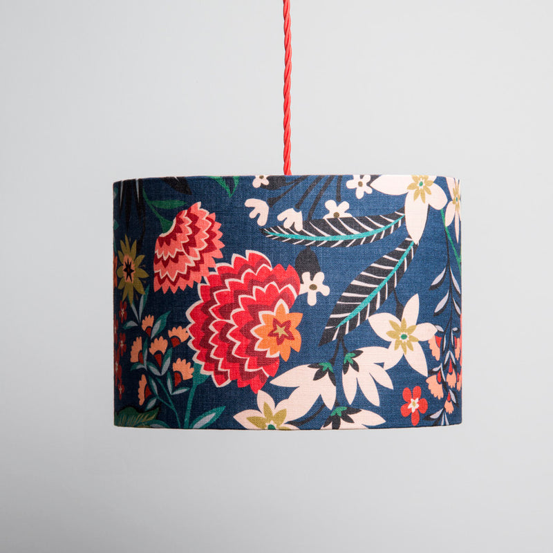 Small Lampshade in Carnation