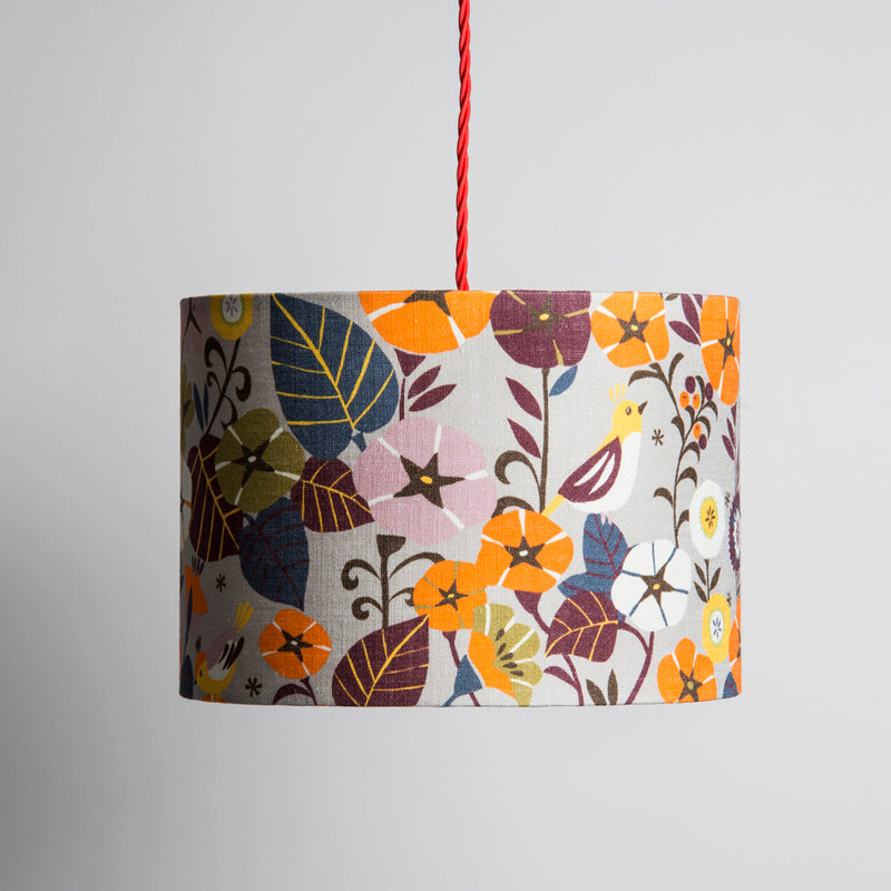Small Lampshade in Nasturtium