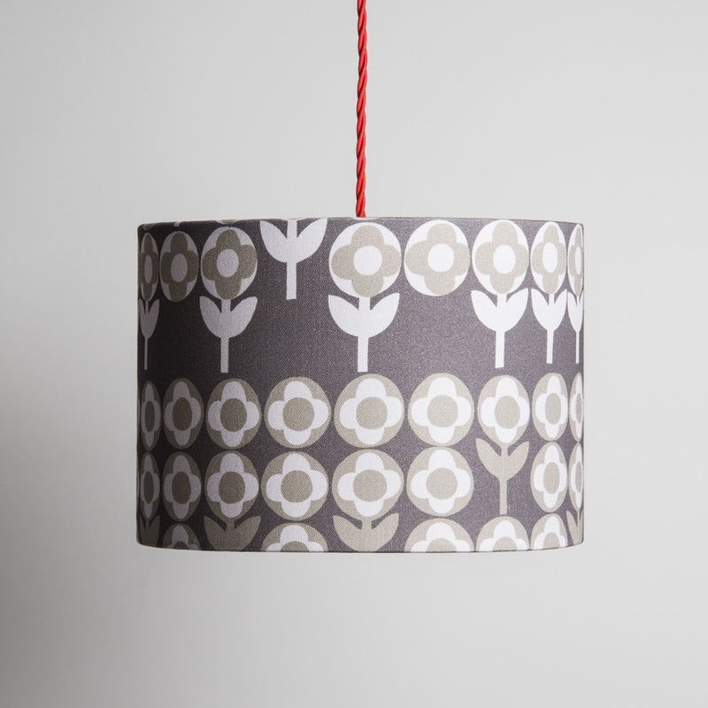 Small Verdure Lampshade in Peppercorn