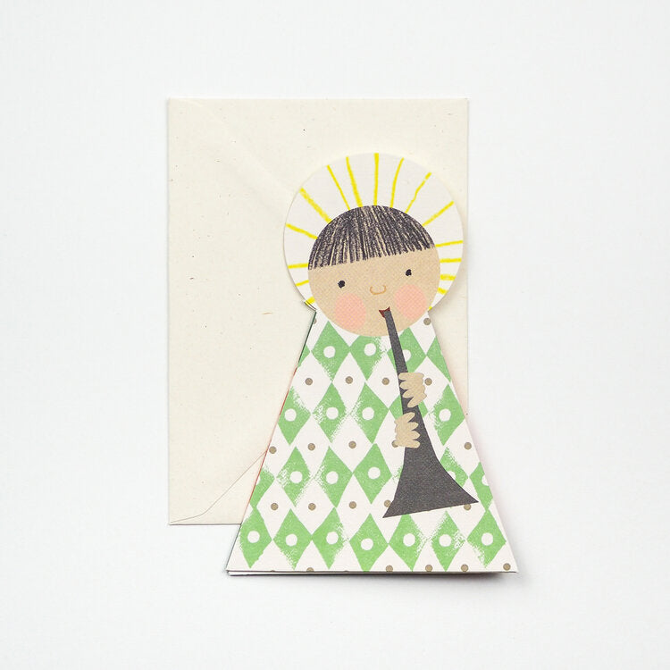 Angel Card - Green