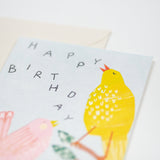 'Birthday Birds' Greetings Card