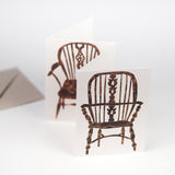 """Chairs"" Greetings Card"