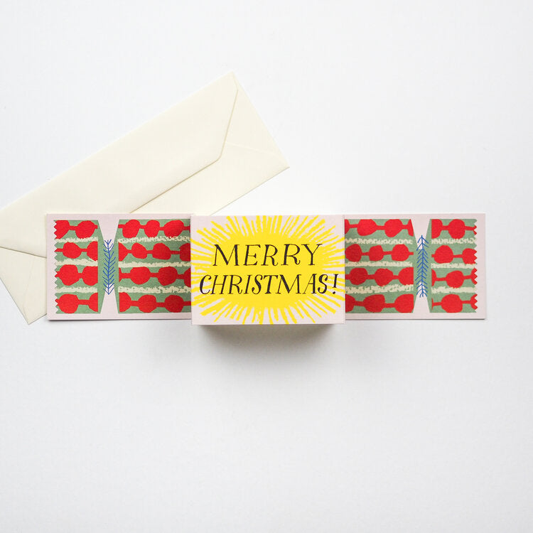 Christmas Cracker Cards - 3 pack