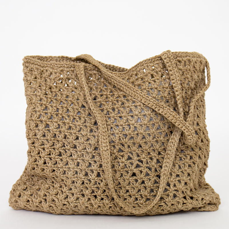 Fairtrade Crochet Jute Bag