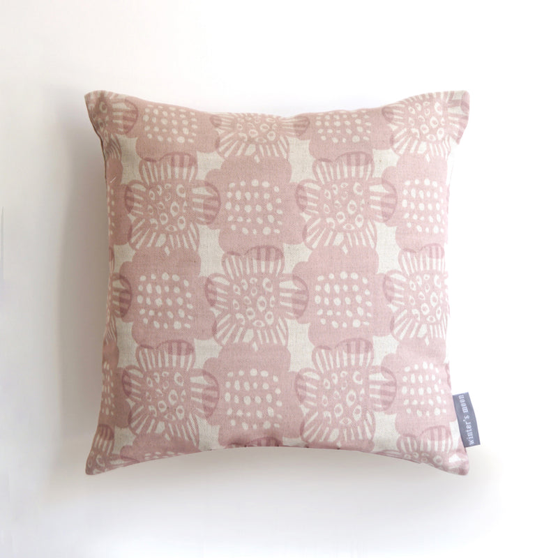 Cushion in Bloom - Blush Pink