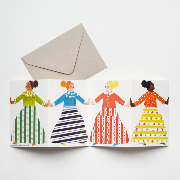 'Dancers' Fold-Out Card