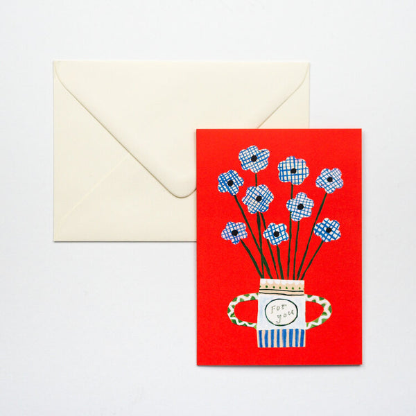 'Flowers For You' Card