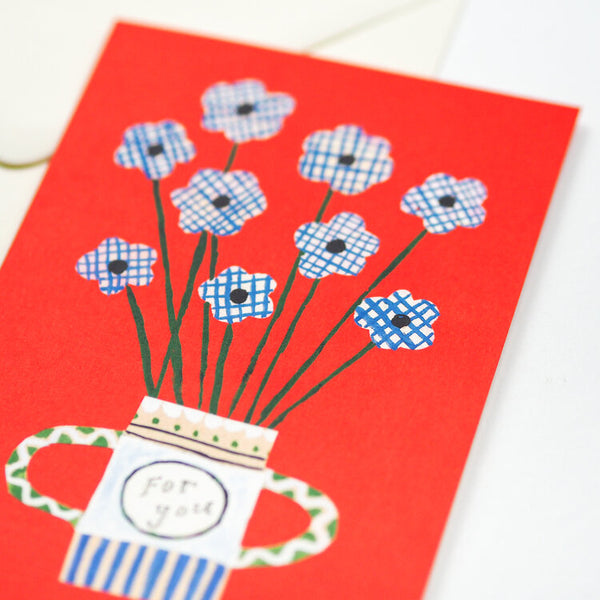 'Flowers For You' Greetings Card