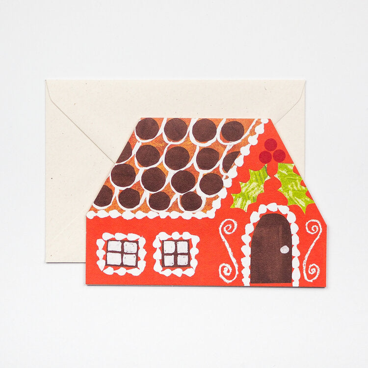 'Gingerbread House' Card