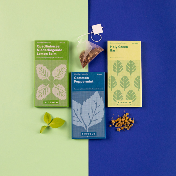 Piccolo Seeds - Herbal Teas Collection