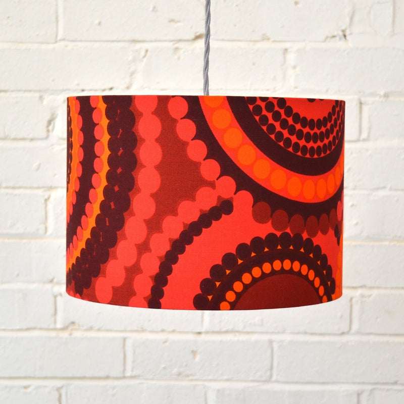 Lampshade in Vintage Bright Dots