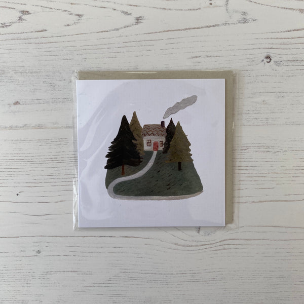 """At Home in the Woods"" Card"