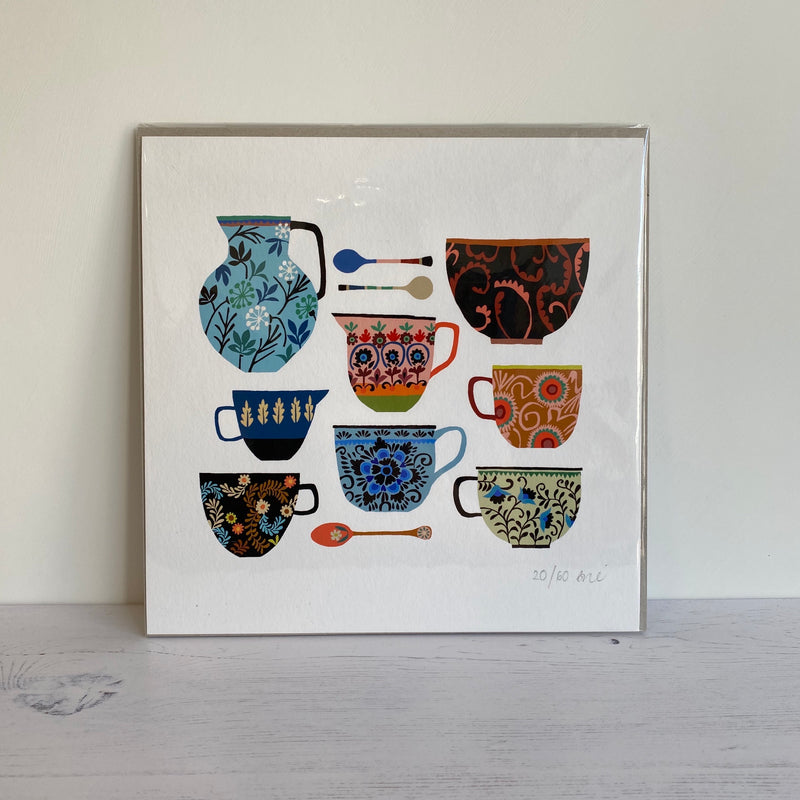 'Folk Collection' Giclee Print - Limited Edition