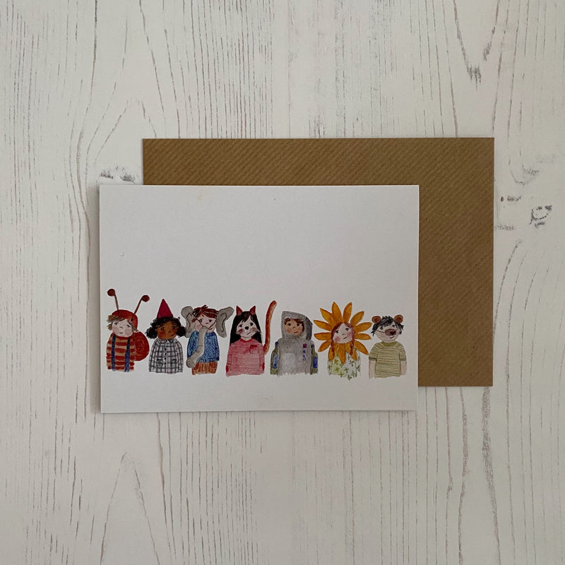 'Fancy Dress Party' Card