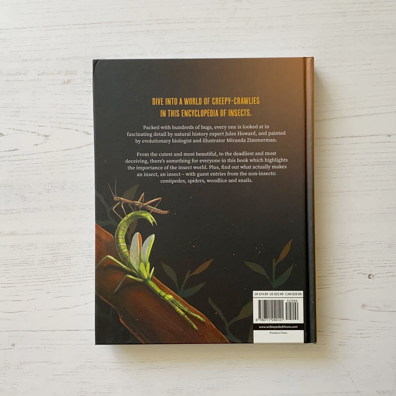 'Encyclopedia of Insects' Book