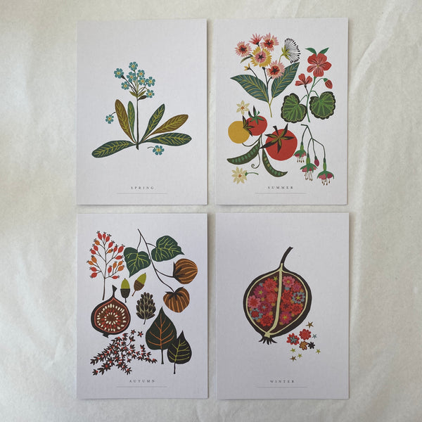 Brie Harrison Postcards - Set of 4