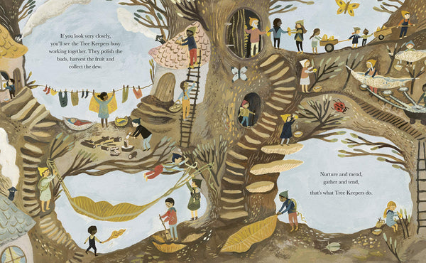 'The Tree Keepers' Book