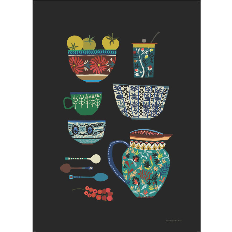 'Kitchen Study' A3 Print