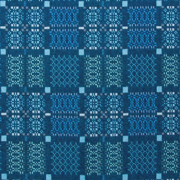 Knot Garden Throw - Lagoon