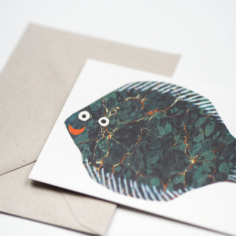 'Little Fish' Greetings Card