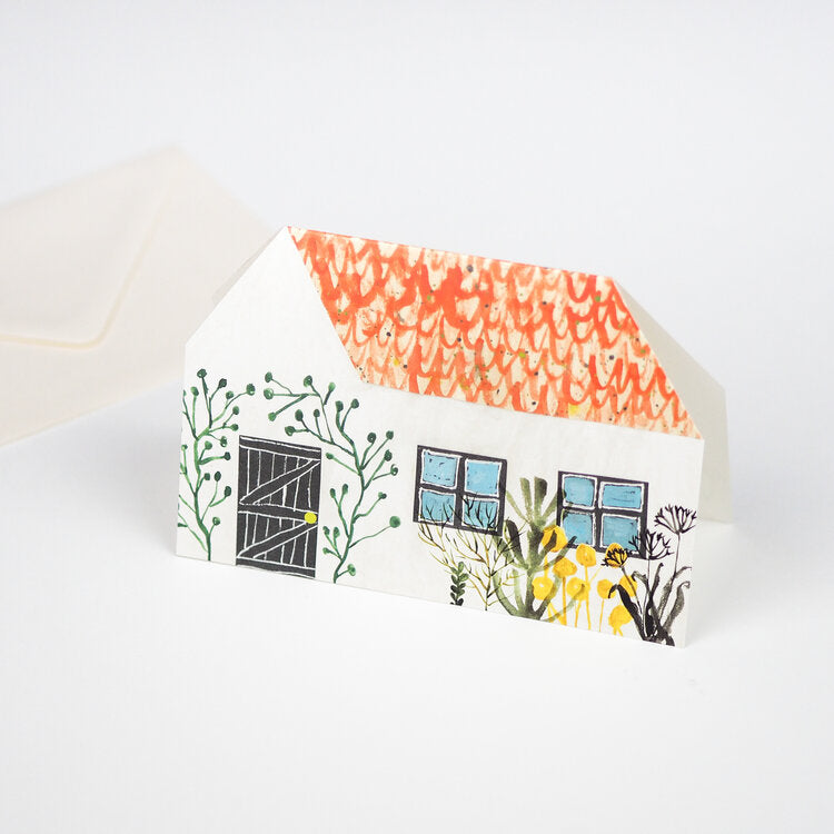 'Little House' Greetings Card with Envelope