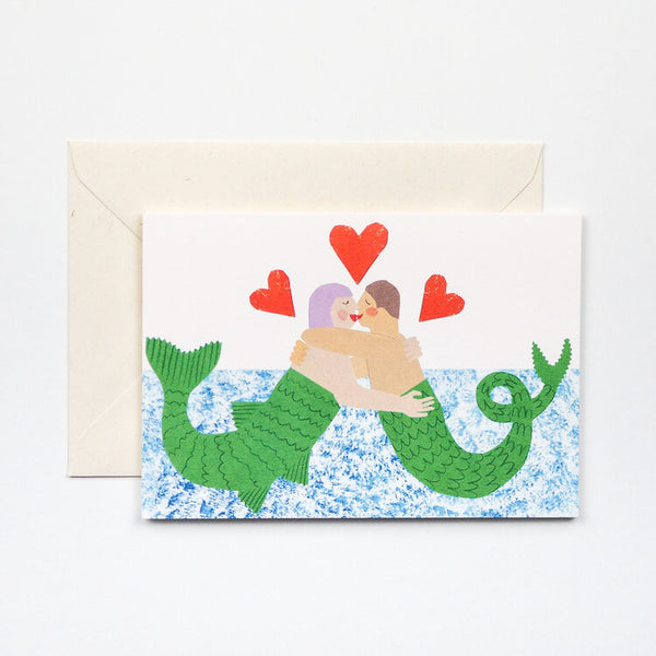 'Mermaid' Card
