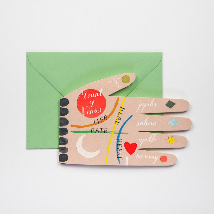 'Palm Reading' Card