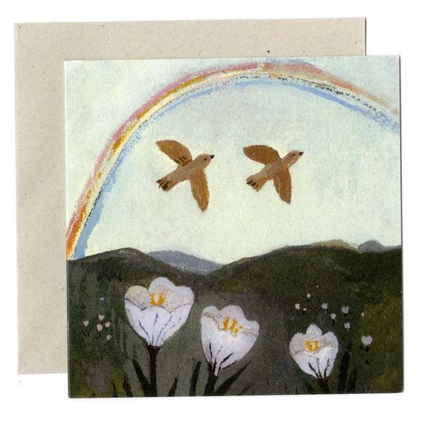 'Rainbow Season' Greetings Card