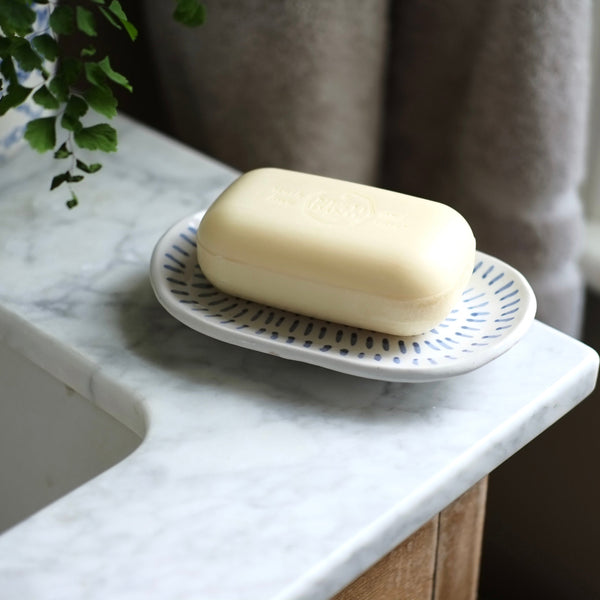 Rectangular Ceramic Soap Dish